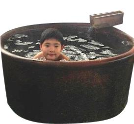 湯舟と懸け樋