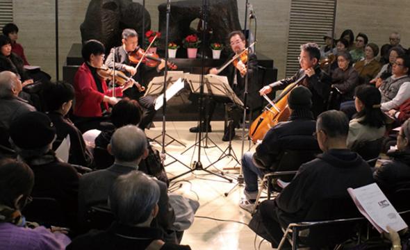 福岡ハイドン弦楽四重奏団のメンバーを構成する九州交響楽団は、全国に... 西日本シティ銀行、九響